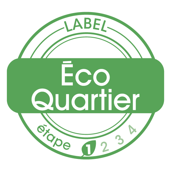 Le Quartier durable est labellisé Eco Quartier phase 1